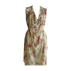 MARNI Winter Edition 2010 Floral Cotton Dress (42 Itl)