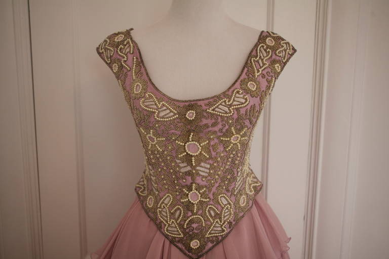 Eavis & Brown Fairy Tale Like Ball Skirt and Bustier Gown 2