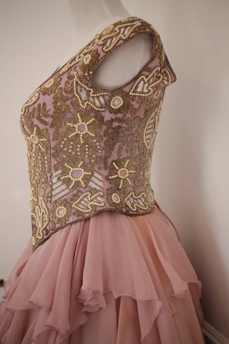 Eavis & Brown Fairy Tale Like Ball Skirt and Bustier Gown 3