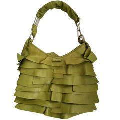 Yves Saint Laurent Ruffled St. Tropez Bag