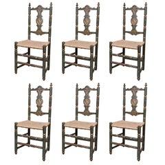 Six Early Italian Chairs