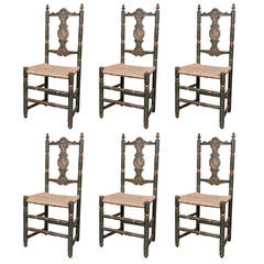 Six Early Italian Chairs