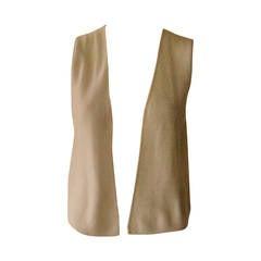 2000C Chanel Finest Cashmere Vest 40 Fr