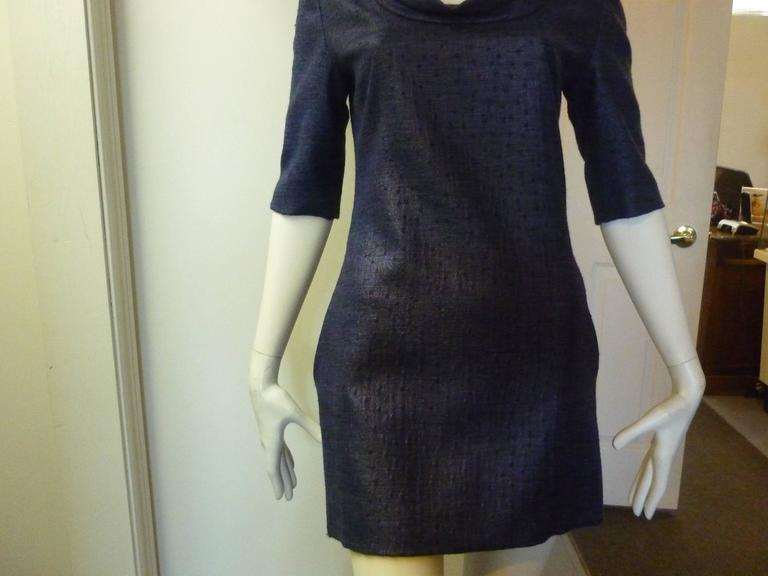 Women's Douglas Hannant Tussah Silk Tunic/Mini Dress (2) For Sale