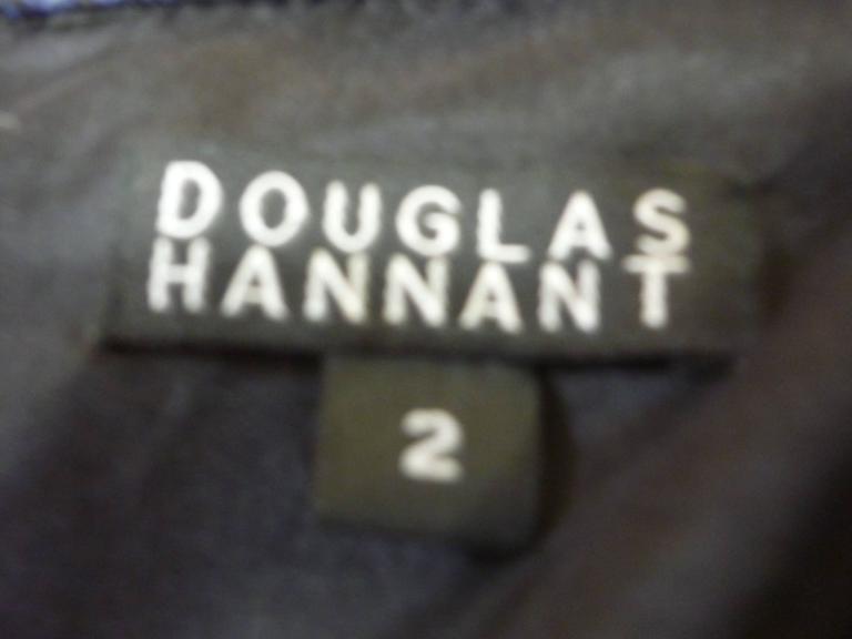 Douglas Hannant Tussah Silk Tunic/Mini Dress (2) For Sale 1