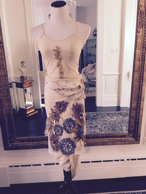 Stunning 3 Piece Set by Dries Van Noten  38 FR. In New Never_worn Condition For Sale In Port Hope, ON