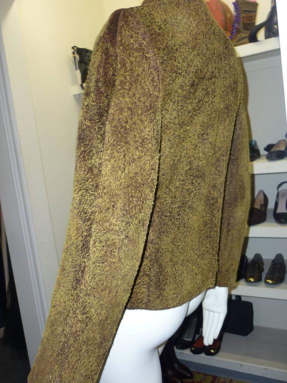 Givenchy Vintage Pigskin Jacket  For Sale 2