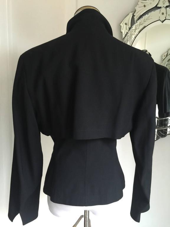 Vintage Azzedine Alaia Short Jacket  SZ.12 2