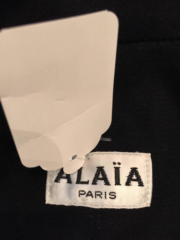 Vintage Azzedine Alaia Short Jacket  SZ.12 5