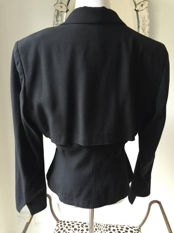 Vintage Azzedine Alaia Short Jacket  SZ.12 6