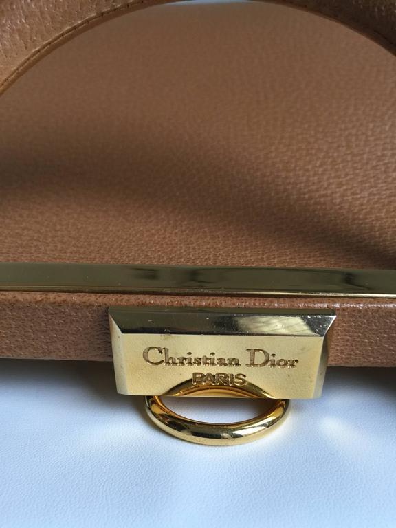 Women's Elegant Christian Dior Tan Bag For Sale
