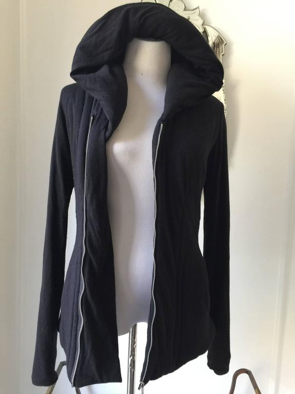 Rick Owens Lilies Hooded Padded Hooded Top IT.42 4