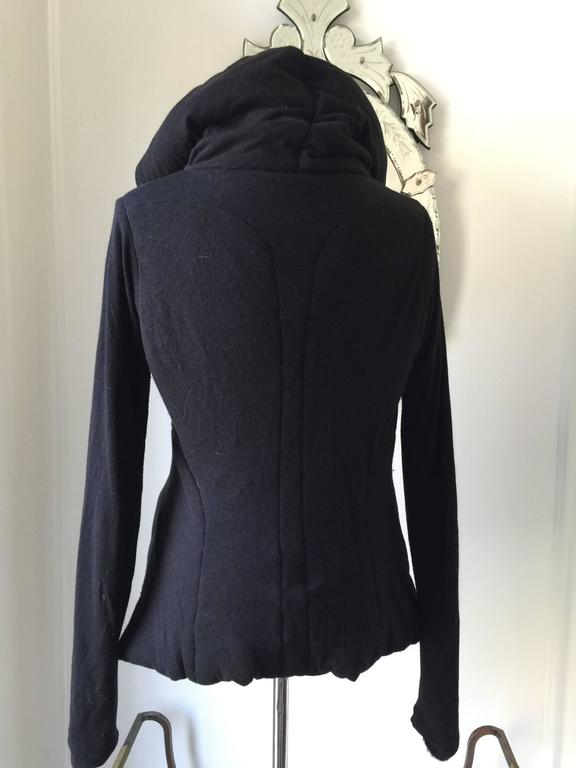 Rick Owens Lilies Hooded Padded Hooded Top IT.42 6