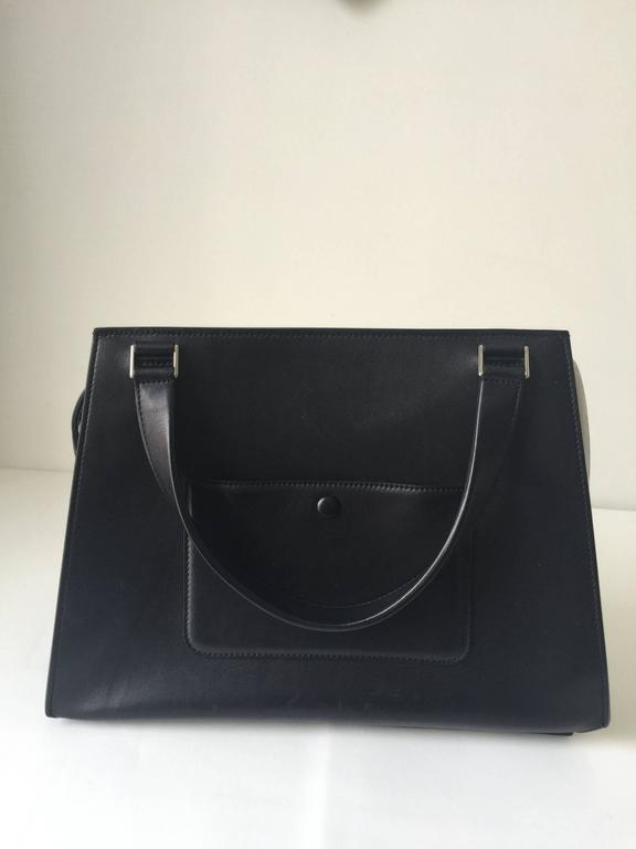 Celine Black and White Medium Edge Bag In Excellent Condition For Sale In Toronto, CA