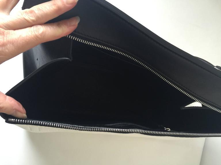 Celine Black and White Medium Edge Bag 6