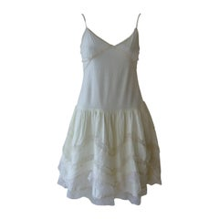 Miu Miu Cotton and Lace Dress