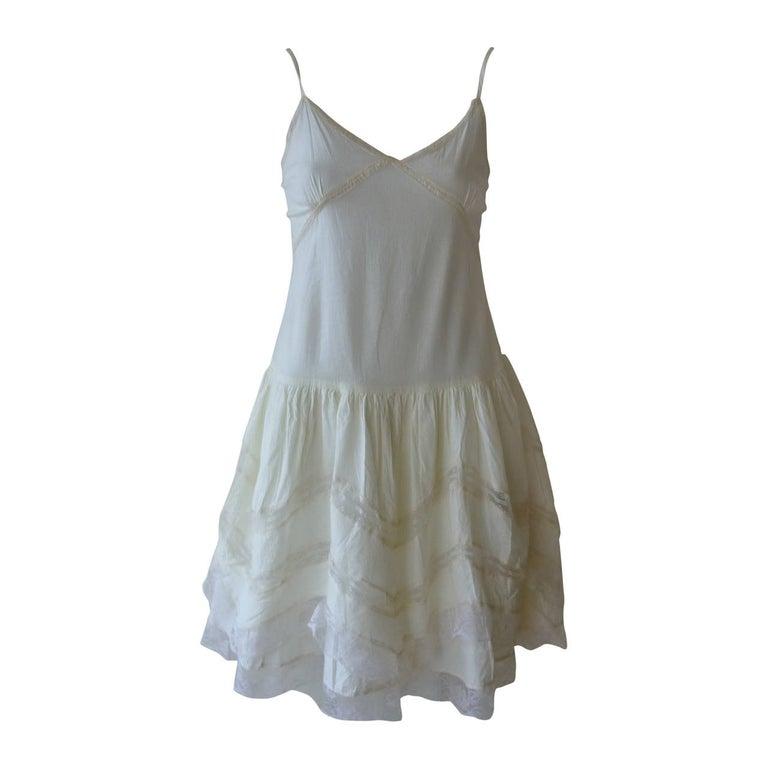 Miu Miu Cotton and Lace Dress