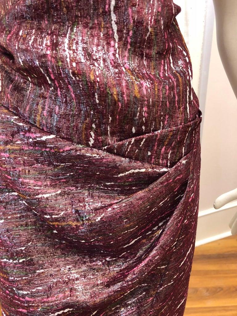 Women's Ports 1961 Draped Shimmering Dress (2) For Sale