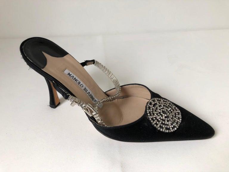 Manolo Blahnik Pointed Toe Shoe 36 For Sale 4