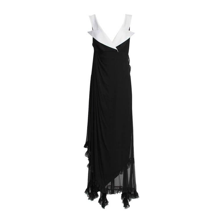Christian Dior Boutique Paris Evening Dress 1