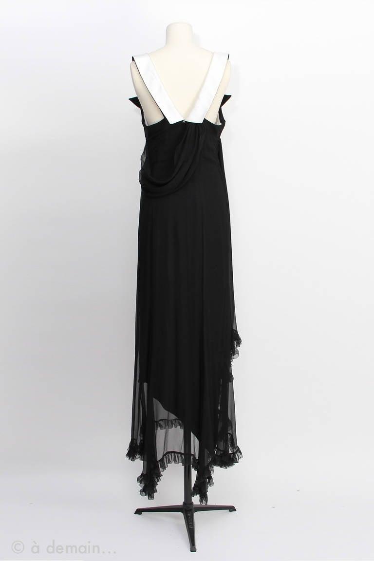 Christian Dior Boutique Paris Evening Dress 3