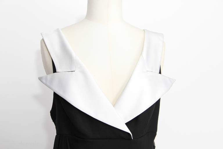 Christian Dior Boutique Paris Evening Dress In Good Condition For Sale In Paris, FR