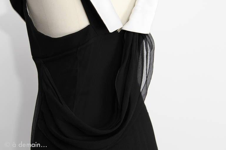 Christian Dior Boutique Paris Evening Dress 5