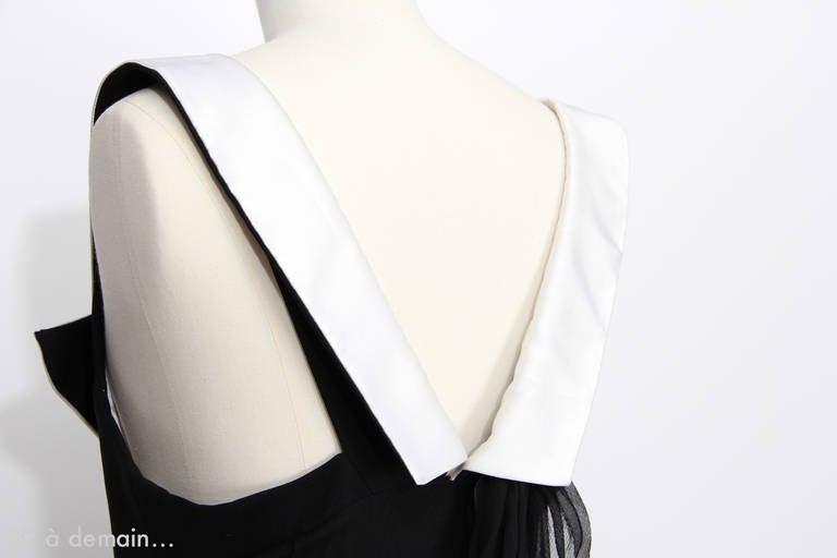 Christian Dior Boutique Paris Evening Dress 6