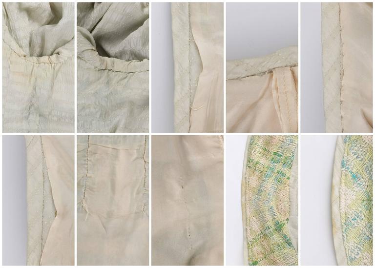 CHANEL Boutique S/S 1984 2 Pc Classic Tweed Blazer Jacket Skirt Suit Set 40 / 46 10