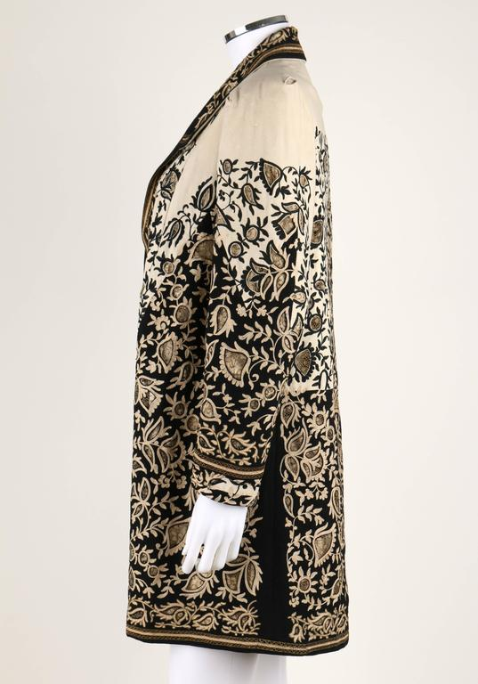 Women's COUTURE c.1910's Edwardian Museum Piece Embroidered Cutwork Lace Jacket Coat For Sale