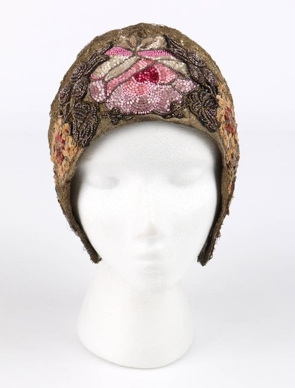 Beaded Evening Hat