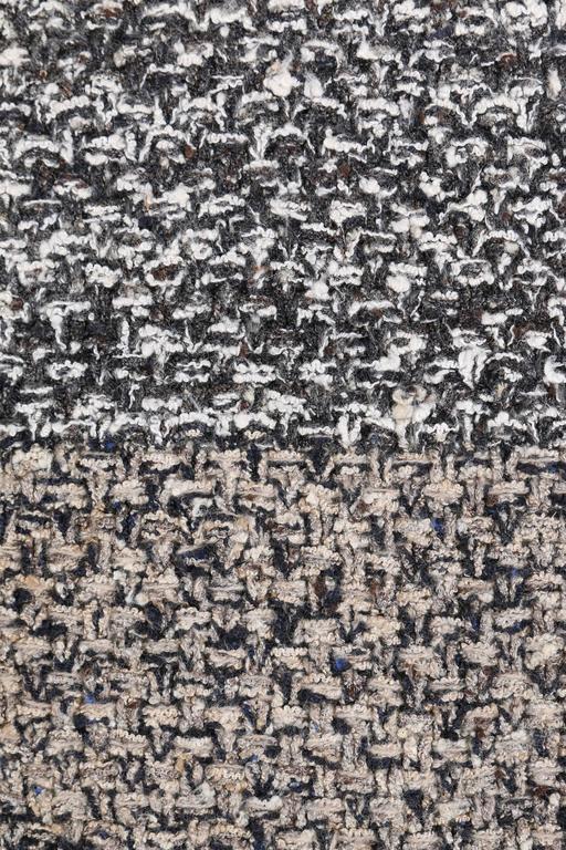 CHANEL A/W 2011 A-Symmetrical Front Side Zip Knitwear Cardigan Jacket 42 For Sale 4