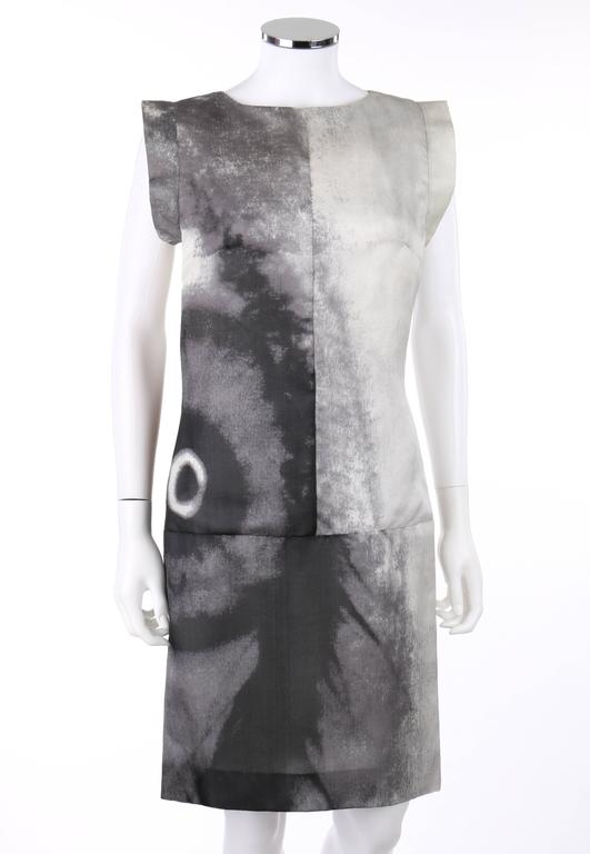 Givenchy Couture S/S 1999 Black & white abstract