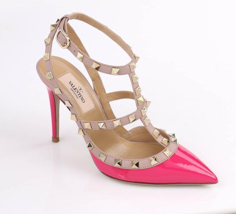 ef171772137 VALENTINO Garavani Fuchsia and Blush Pink