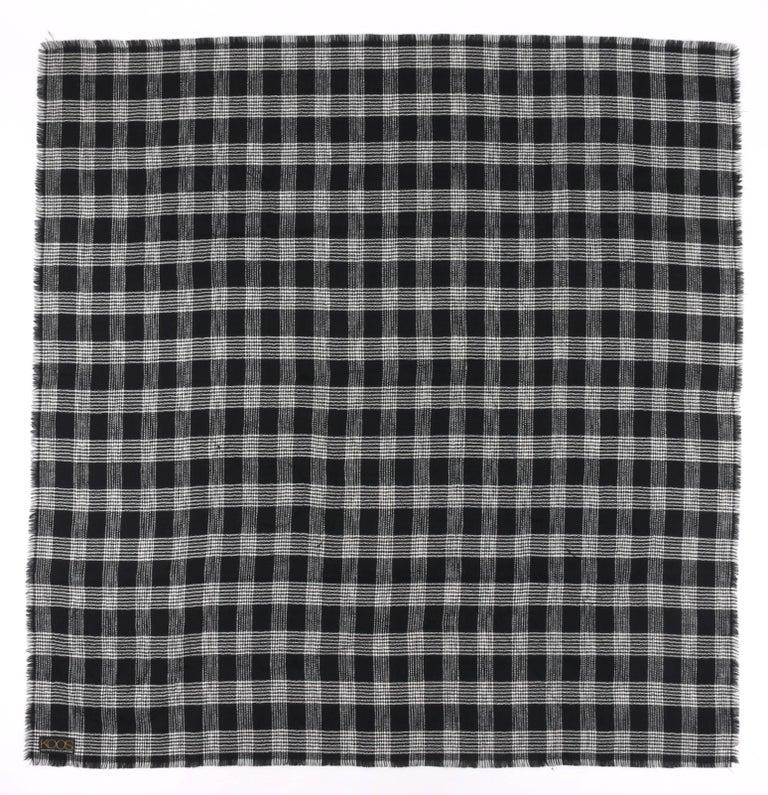 KOOS VAN DEN AKKER c. 1980's 4 Pc Patchwork Blouse Skirt Pants Suit Set w/ Shawl For Sale 3