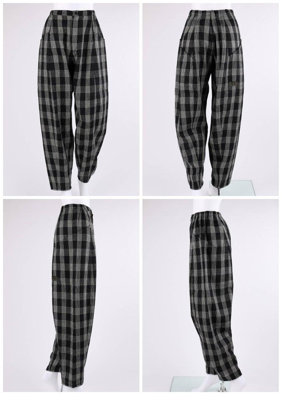 KOOS VAN DEN AKKER c. 1980's 4 Pc Patchwork Blouse Skirt Pants Suit Set w/ Shawl For Sale 1