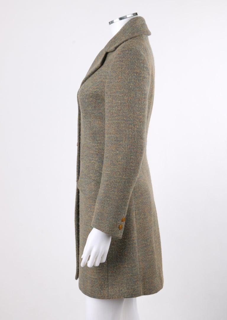 Women's VIVIENNE WESTWOOD Red Label S/S 1999 Tweed Wool Tailored Princess Coat Jacket For Sale