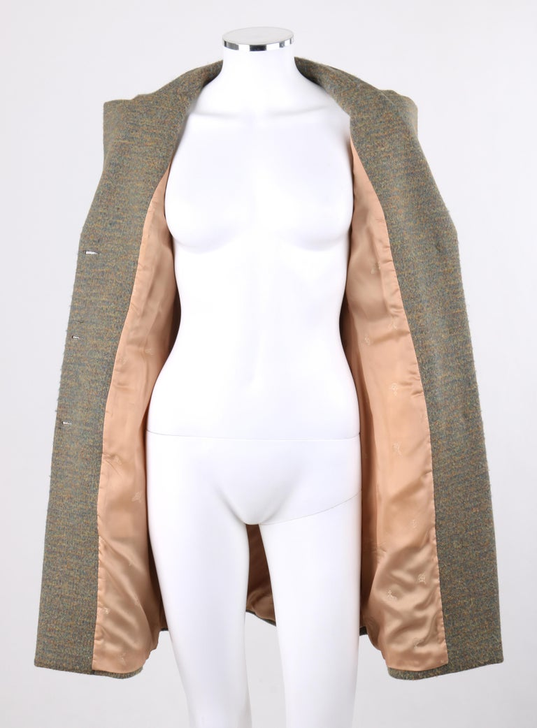 VIVIENNE WESTWOOD Red Label S/S 1999 Tweed Wool Tailored Princess Coat Jacket For Sale 1