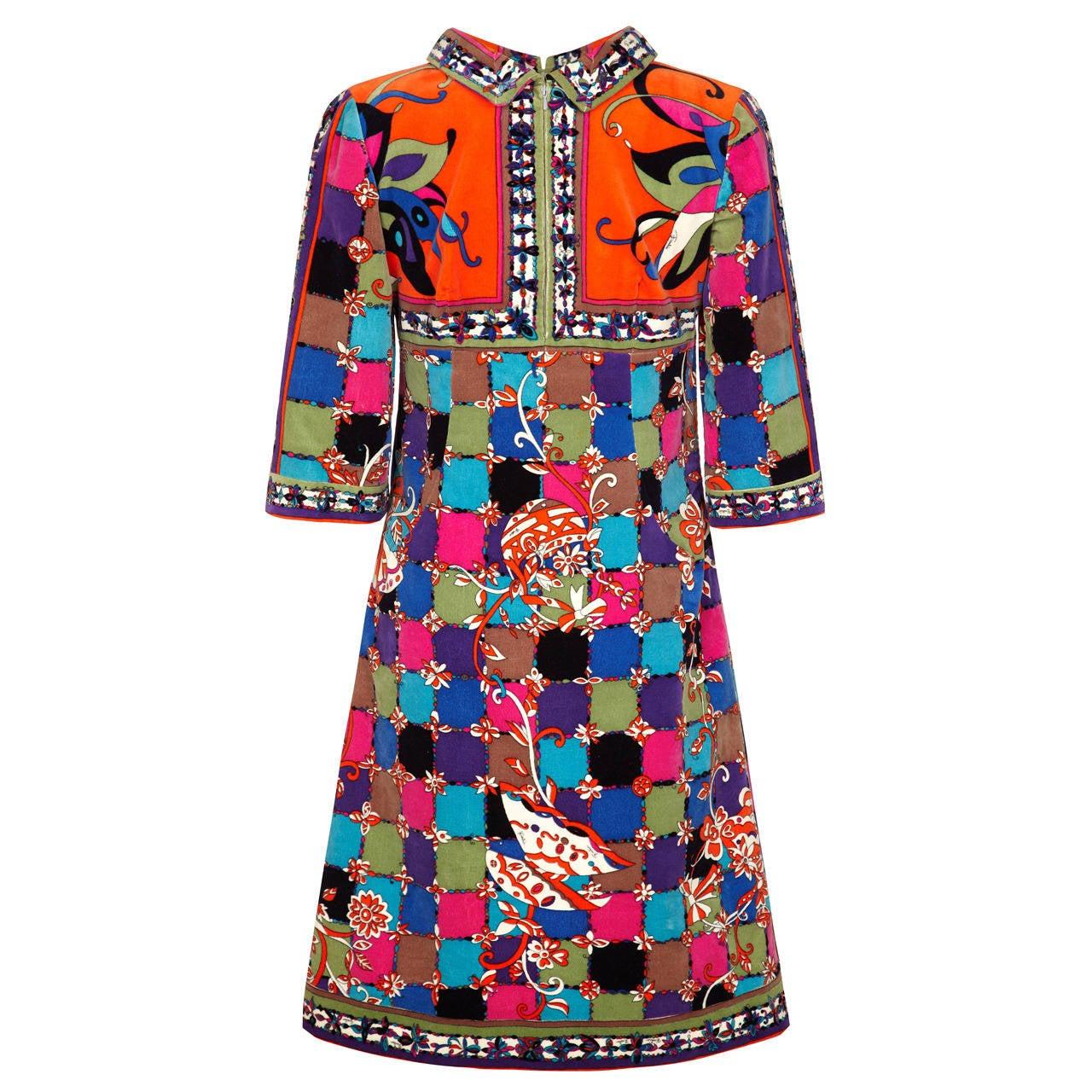 1960s Pucci Velvet Tunic