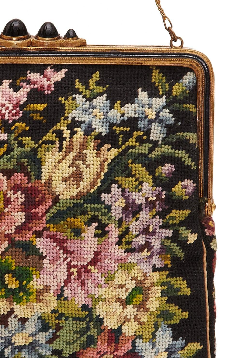 1920s Austrian Tapestry Bag 2