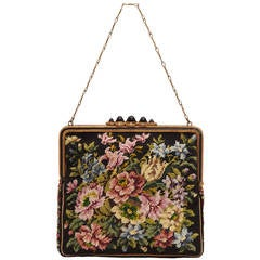 1920s Austrian Tapestry Bag