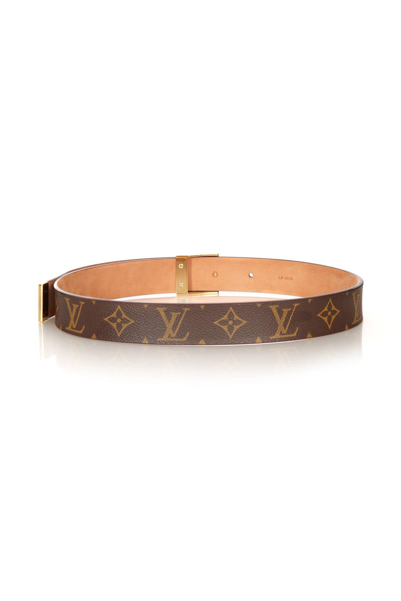 Louis Vuitton Monogram Belt 2