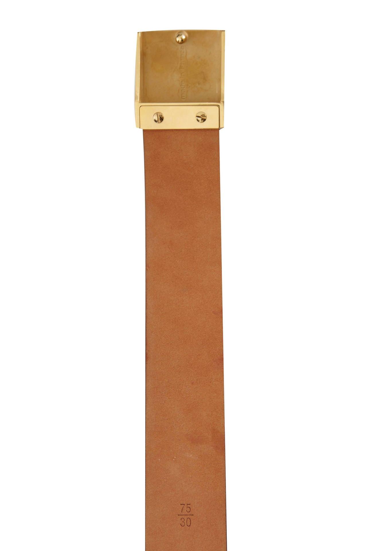 Louis Vuitton Monogram Belt 3