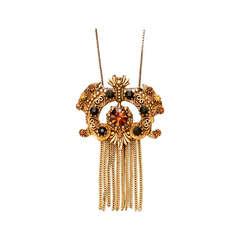 1950s Florenza Pendant Necklace