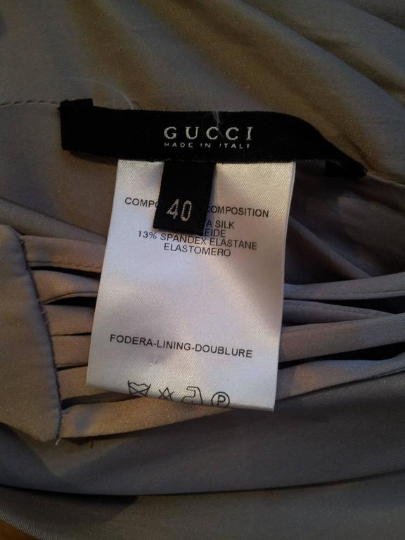 2003 Tom Ford for Gucci Lilac Satin Corset Dress In Excellent Condition For Sale In London, GB
