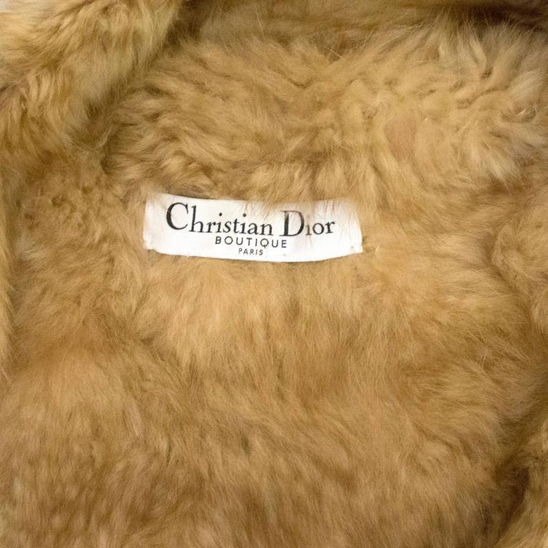 Christian Dior Rare Russian Sable Fur Coat 8