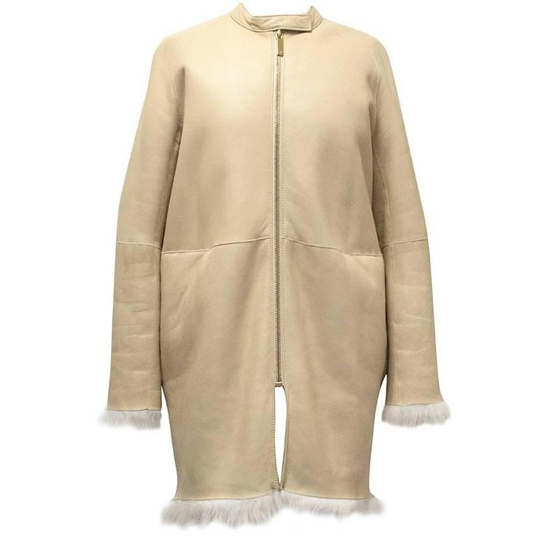The Row Lambskin Coat 1