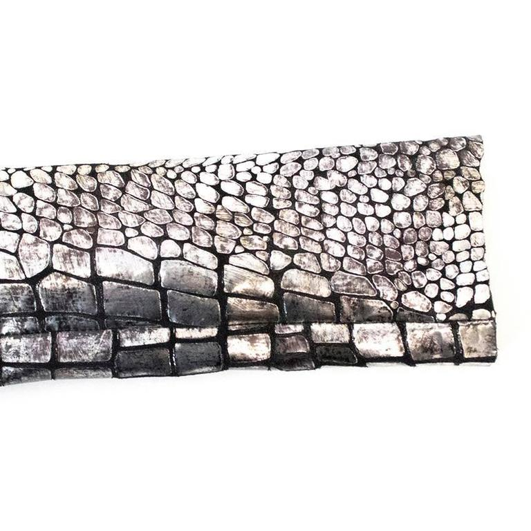 Isabel Marant Metallic silver leather Jacket 9