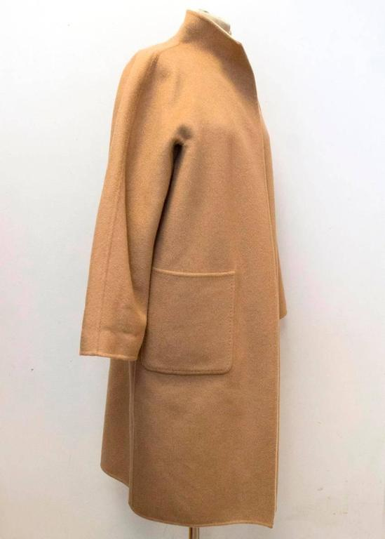 MaxMara Tan And Beige Reversible Coat For Sale 1