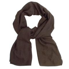 Louis Vuitton Brown Silk/Cashmere Scarf